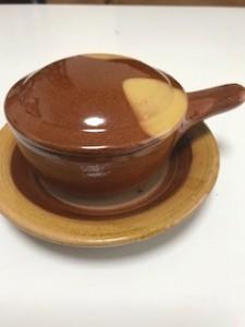 笠岡市にある美容室Gratia(グラーティア)。湯町窯でエッグベーカーを買ってみた。